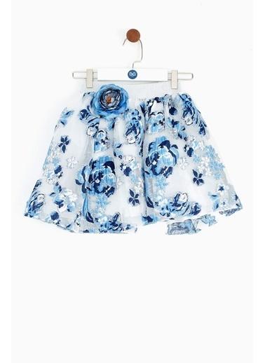 Lia Lea Lia Lea Kız Çocuk Mavi Etek 19SSLL07219 Mavi